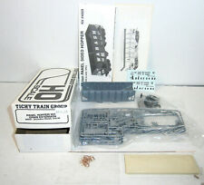 Ticht Train Group HO Scale 30' Panel Hopper w/Grain Ext. Kit - Andersons- NIB!