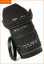 Sigma EX 18-50mm F2.8 DC AF Zoom lente. Canon Eos + GRATIS UK FRANQUEO