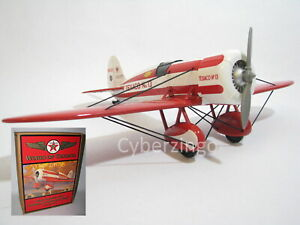 Wing Of Texaco 1930 Travel Air Model R Mystery Ship Diecast Airplane Preowned