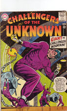 Challengers of the Unknown #36 VG DC 1964 Rocky giant