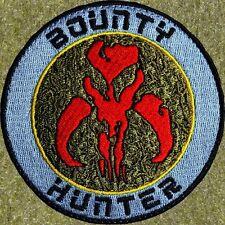 ZOMBIE HUNTER TACTICAL: BOUNTY HUNTER PATCH W/VELCRO ~ BOBA FETT/STAR WARS SKULL