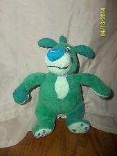 "Boz The Green Bear Bean Bag Plush 8"" Exclaim 2006"
