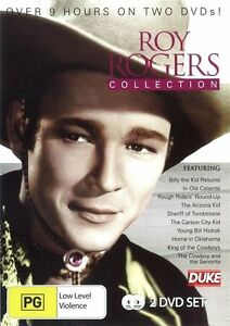 Roy Rogers Collection 10 movies 9 hrs DVD R4 BRAND NEW/SEALED