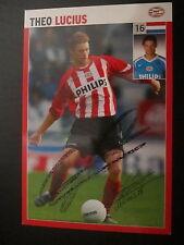 4106 Theo Lucius PSV Eindhoven original signierte Autogrammkarte Ausland