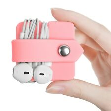 Headphone Cord Winders Earbud Holder Silicone Cable Organizer Elfrhino