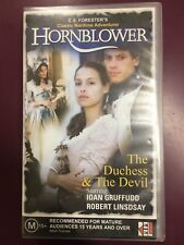 Hornblower - The Duchess And The Devil VHS TAPE (1999 adventure movie)
