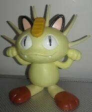 """Vintage Pokemon MEOWTH Electronic TALKING Nintendo Tomy Figure Toy 1998 3.75"""""""
