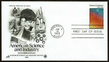 HuskyStamps ~ United States #2031, First Day Cover FDC, 'ArtCraft', 2 pictures