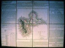 Antique map, Guadaloupe