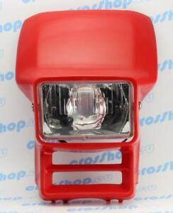 Verkleidung Scheinwerfermaske Honda XL 600 XR 250 600 Cemoto Farbe Rot Headlight