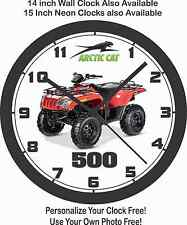 2016 ARCTIC CAT 500 ATV WALL CLOCK-POLARIS, CAN-AM, YAMAHA, HONDA