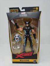 "WOLVERINE Uncanny X-Force Marvel Legends Wendigo Build-A-Figure Series 6"" 2019"