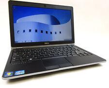 """NETBOOK PC PORTATILE DELL E6230 SLOT 3G CORE I5 RAM 8GB SSD 12.5"""" WINDOWS 7"""