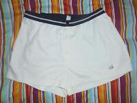 vintage TRIGEMA Tennis Shorts oldschool 80er sport Sporthose Gr.54 M/L