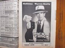 Feb. 14-1993 N Y Times TV Mag(DICK TRACY/MADONNA/WARREN BEATTY/VALERIE E. SMITH)