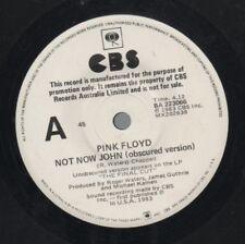 "PINK FLOYD   Rare 1983 Australian Promo Only 7"" OOP Rock Single ""Not Now John"""