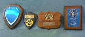 Group of 4 vintage archery trophy plaques! South East archery!