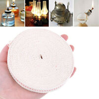 1.5m Flat Cotton Oil Lamp Wick Roll For Oil Lamps and Lanterns niBACAU3US