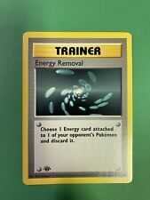 1st Edition Shadowless Energy Removal - Base Set 92/102