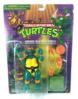 Toon Mike Vintage TMNT Ninja Turtles Action Figure MOC New Cartoon Michelangelo