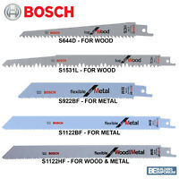 Bosch Reciprocating Sabre Saw Combo S644D, S1531L, S922BF, S1122BF & S1122HF