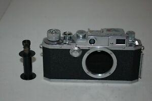 Canon IVsb /4SB RARE 1952 Japanese Rangefinder Camera. Serviced. 89839. UK Sale