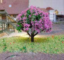 10 violett blühende Bäume, 50 mm hoch