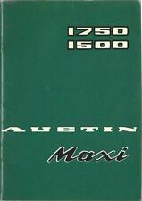 Austin MAXI 1750 1500 manuale di istruzioni 1971 MANUALE MANUALE BA