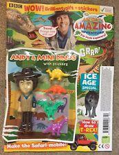 Andys Prehistoric Adventures toy figure dinosaurs CBeebies Amazing magazine Andy