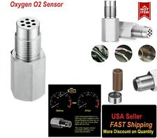 Oxygen O2 Sensor Spacer Adapter CEL Eliminator (mini Cat) w/ catalyst Converter