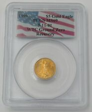 PCGS MS69 $5 Gold Eagle 9-11-01 WTC Ground Zero Recovery  71358698