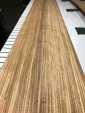 "Zabrano Zebrawood Wood Veneer 2 sheets 115"" x 9'-10 3/4' 617K"