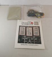 Cross Stitch Kit : The Prairie Schooler Spring Samplers See Description