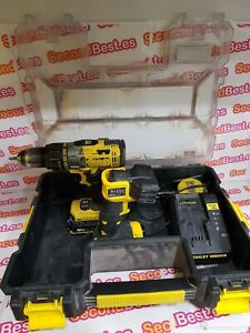 Taladro Percutor Stanley FMC625 2 Bateria 18V 2.0ah + Linterna Stanley FMC705