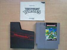 Nintendo NES - Teenage Mutant Hero Turtles - Manual INCLUDED