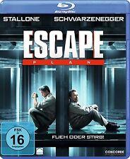 Blu-ray * ESCAPE PLAN - FLIEH ODER STIRB - Schwarzenegger - Stallone # NEU OVP $
