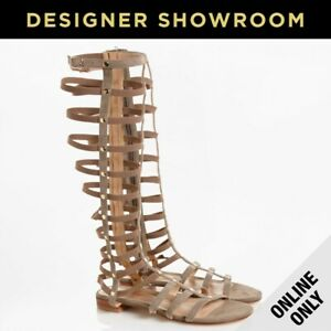 Stuart Weitzman EUR 38/US 8 Gladiator Womens Leather Sandals