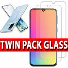 For Samsung S20 FE A21s A52 A12 A51 TEMPERED GLASS SCREEN PROTECTOR / Case Cover
