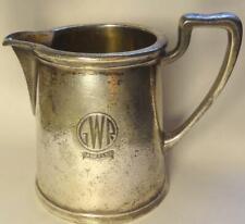 More details for vintage gwr hotels cream jug - elkington