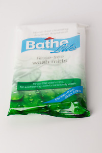 Bath in Bed Moist Wash Mitts - Carton of 24 packs x 8 mitts