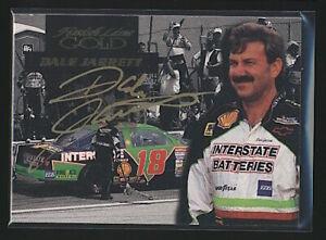 1994 Finish Line Gold DALE JARRETT On Card Autograph Auto #38 Winston Cup
