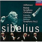 SIBELIUS - ORCHESTRAL WOKRS INC FINLANDIA - BOSTON SYMPHONY ORCH - DECCA CD NEW