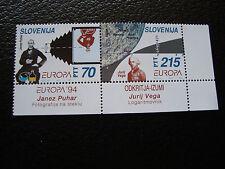 SLOVENIE - timbre yvert et tellier n° 78 79 n** (europa) (A24) stamp