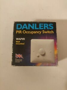 PIR Occupancy Switch, wall mounted