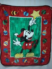New Crown Crafts Disney's Mickey Mouse Blanket Throw #74Z