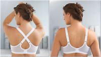 NEW (2-Way) Bra msrp $42 CONVERTIBLE +Dual-Strap F&B Adjustment! Black CLEARANCE