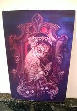 3D CARTE POSTALE gothique art officiel Alchemy Tatouage LADY 10x15 cm environ