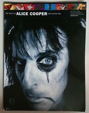 ALICE COOPER BEST OF GUITAR TAB SONGBOOK TABLATURE MUSIC BOOK