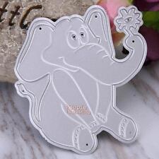 Metal Elephant Cutting Dies Stencil DIY Scrapbook Paper Album Card Craft Decor