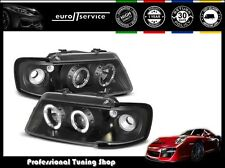 FARI ANTERIORI HEADLIGHTS LPAU05 AUDI A3 8L 1996 1997 1998 1999 2000 ANGEL EYES
